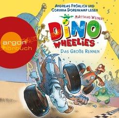 Dino Wheelies - Das große Rennen, Audio-CD