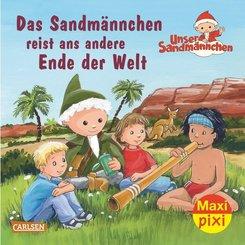 Das Sandmännchen reist ans andere Ende der Welt
