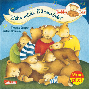 Bobby Bär: Zehn müde Bärenkinder