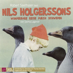 Nils Holgerssons wunderbare Reise durch Schweden, 16 Audio-CDs