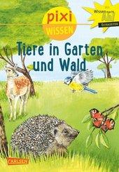 Tiere in Garten und Wald