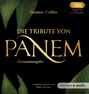 Die Tribute von Panem. Gesamtausgabe (1-3), 6 Audio-CD, MP3