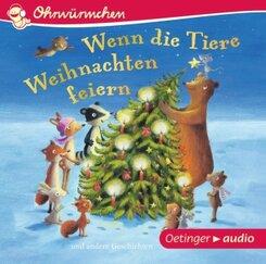 Wenn die Tiere Weihnachten feiern, Audio-CD