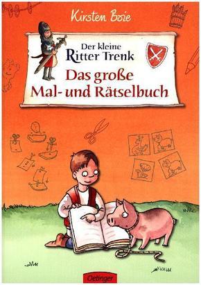 Der kleine Ritter Trenk - Das große Mal- und Rätselbuch