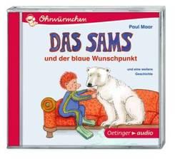 Das Sams und der blaue Wunschpunkt und eine weitere Geschichte, 1 Audio-CD