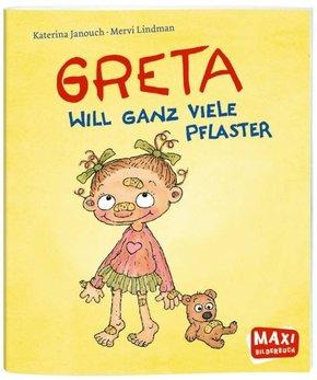 Greta will ganz viele Pflaster - Maxi Bilderbuch