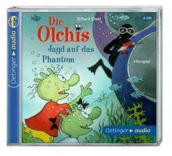 Die Olchis - Jagd auf das Phantom, 2 Audio-CDs