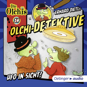 Olchi-Detektive - Ufo in Sicht, 1 Audio-CD