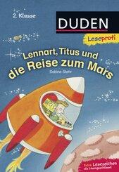 Lennart, Titus und die Reise zum Mars
