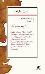 Sämtliche Werke: Fassungen; Abt.2. Essays - Tl.2