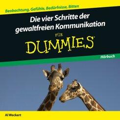 Die Vier Schritte der Gewaltfreien Kommunikation für Dummies, 1 Audio-CD