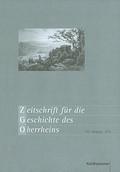 Zeitschrift für die Geschichte des Oberrheins - Jahrgang.163