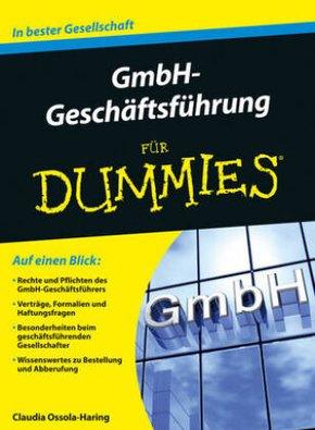 GmbH-Geschäftsführer für Dummies