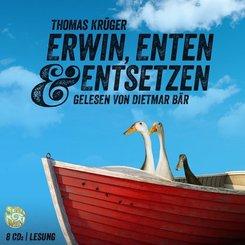 Erwin, Enten & Entsetzen, 8 Audio-CDs