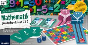 Die Mathemonster-Box: Mathematik für die Grundschule - Klasse 1 und 2