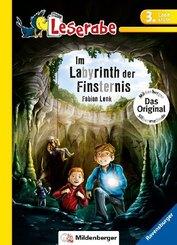 Im Labyrinth der Finsternis - Leserabe 3. Klasse - Erstlesebuch für Kinder ab 8 Jahren