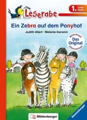 Ein Zebra auf dem Ponyhof - Leserabe 1. Klasse - Erstlesebuch für Kinder ab 6 Jahren