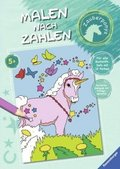 Malen nach Zahlen: Zauberponys
