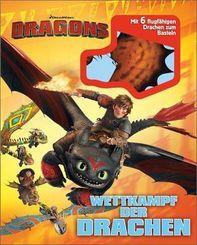 Dragons. Wettkampf der Drachen - Mit 6 flugfähigen Drachen zum Basteln