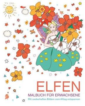 Malbuch für Erwachsene - Elfen