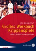 Großes Werkbuch Krippenspiele, m. CD-ROM