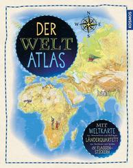 Der Weltatlas - Mit Weltkarte zum Herausnehmen und Aufhängen