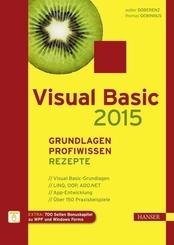 Visual Basic 2015 - Grundlagen, Profiwissen und Rezepte