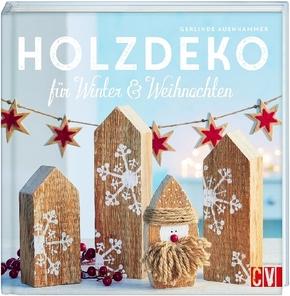 Holzdeko für Winter & Weihnachten