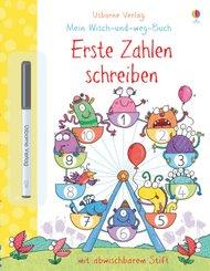 Mein Wisch-und-weg-Buch, Erste Zahlen schreiben