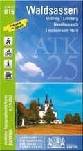 Amtliche Topographische Karte Bayern Waldsassen