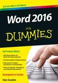 Word 2016 für Dummies