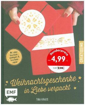 Weihnachtsgeschenke in Liebe verpackt