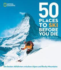 50 einmalige Orte zum Skifahren