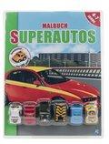 Malbuch Super-Autos, m. 6 Rückzieh-Spielfahrzeugen
