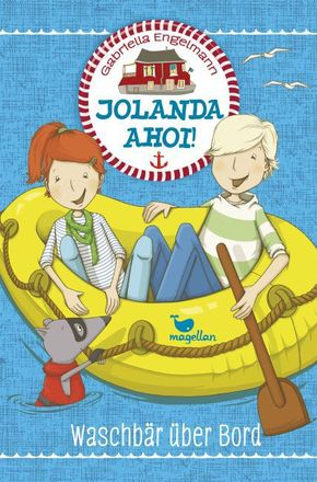Jolanda ahoi! - Waschbär über Bord