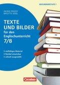 Texte und Bilder - Vielfältiges Material - flexibel einsetzbar - schnell ausgewählt - Englisch - Klasse 7/8