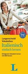 Langenscheidt Vokabelbox Italienisch einfach lernen