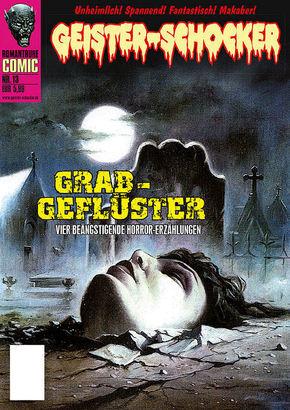 Geister-Schocker-Comic - Grab-Geflüster