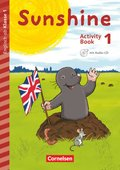 Sunshine - Early Start Edition (Neubearbeitung): 1. Schuljahr - Activity Book mit Audio-CD