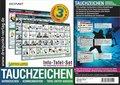 Info-Tafel-Set Tauchzeichen