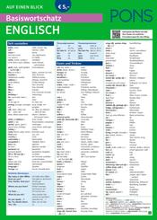 PONS Basiswortschatz Englisch auf einen Blick