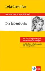"""Lektürehilfen Annette von Droste-Hülshoff """"Die Judenbuche"""""""