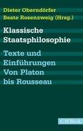 Klassische Staatsphilosophie