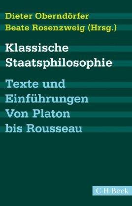 Klassische Staatsphilosophie; Band 2