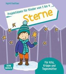 Projektideen für Kinder von 1 bis 4: Sterne