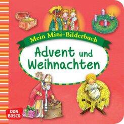 Mein Mini-Bilderbuch: Advent und Weihnachten