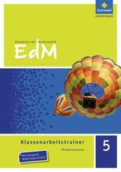 Elemente der Mathematik, Klassenarbeitstrainer, Ausgabe Niedersachsen: 5. Schuljahr, Klassenarbeitstrainer G9