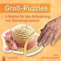 """Groß-Puzzles: 6 Motive für die Aktivierung von Demenzkranken, Thema """"Sommerurlaub"""""""