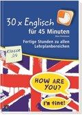 30 x Englisch für 45 Minuten - Klasse 3/4