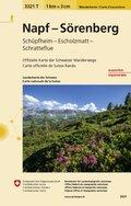 Landeskarte der Schweiz Napf Sörenberg